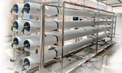 8吨超纯化水设备双RO+EDI